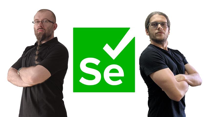 Krzysiek i Selenium