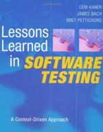 Lessons Learned in Software Testing: A Context-Driven Approach